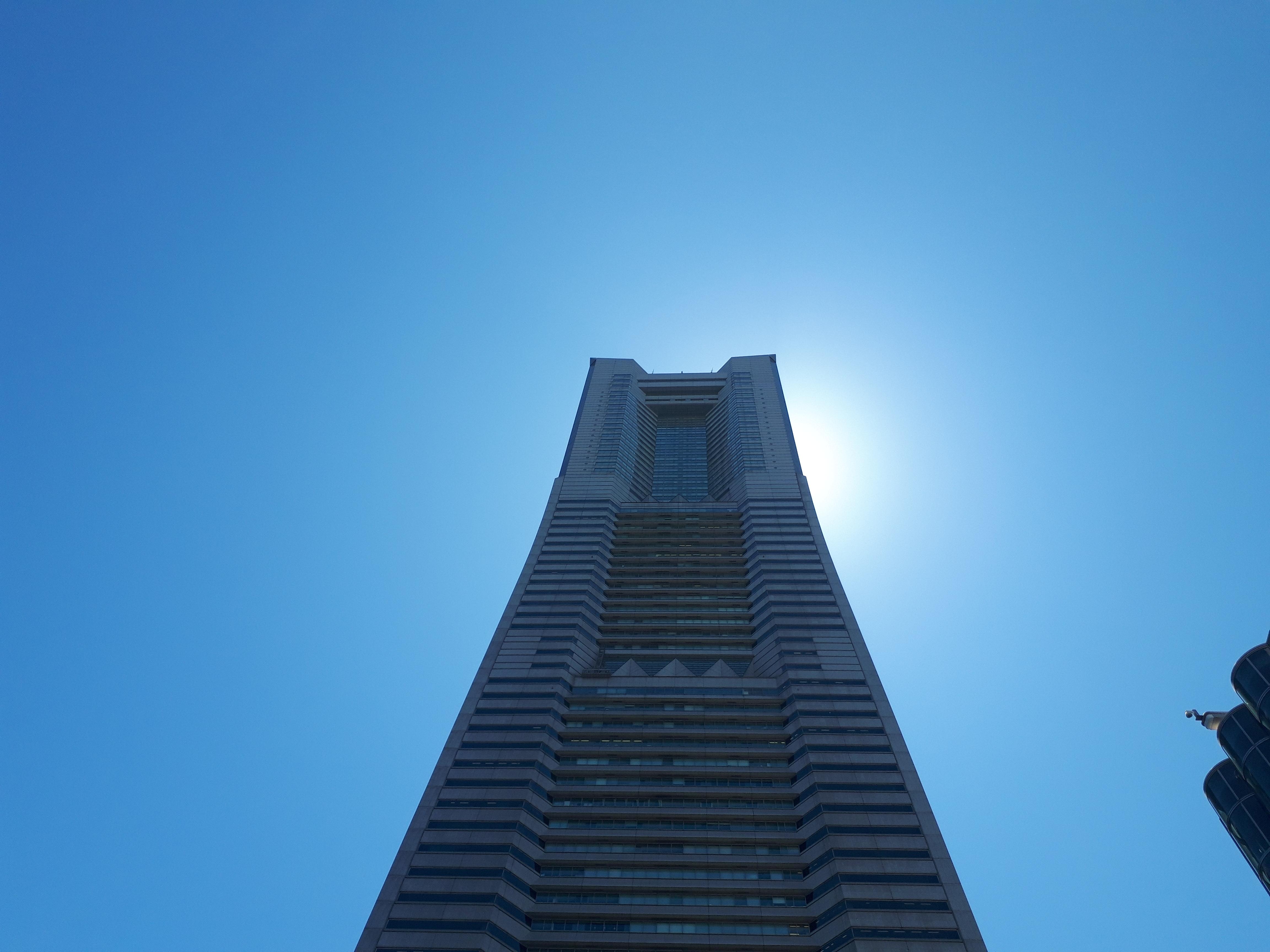 【お散歩】ランドマークタワー登ったの、高校生の時以来2度目だわ。