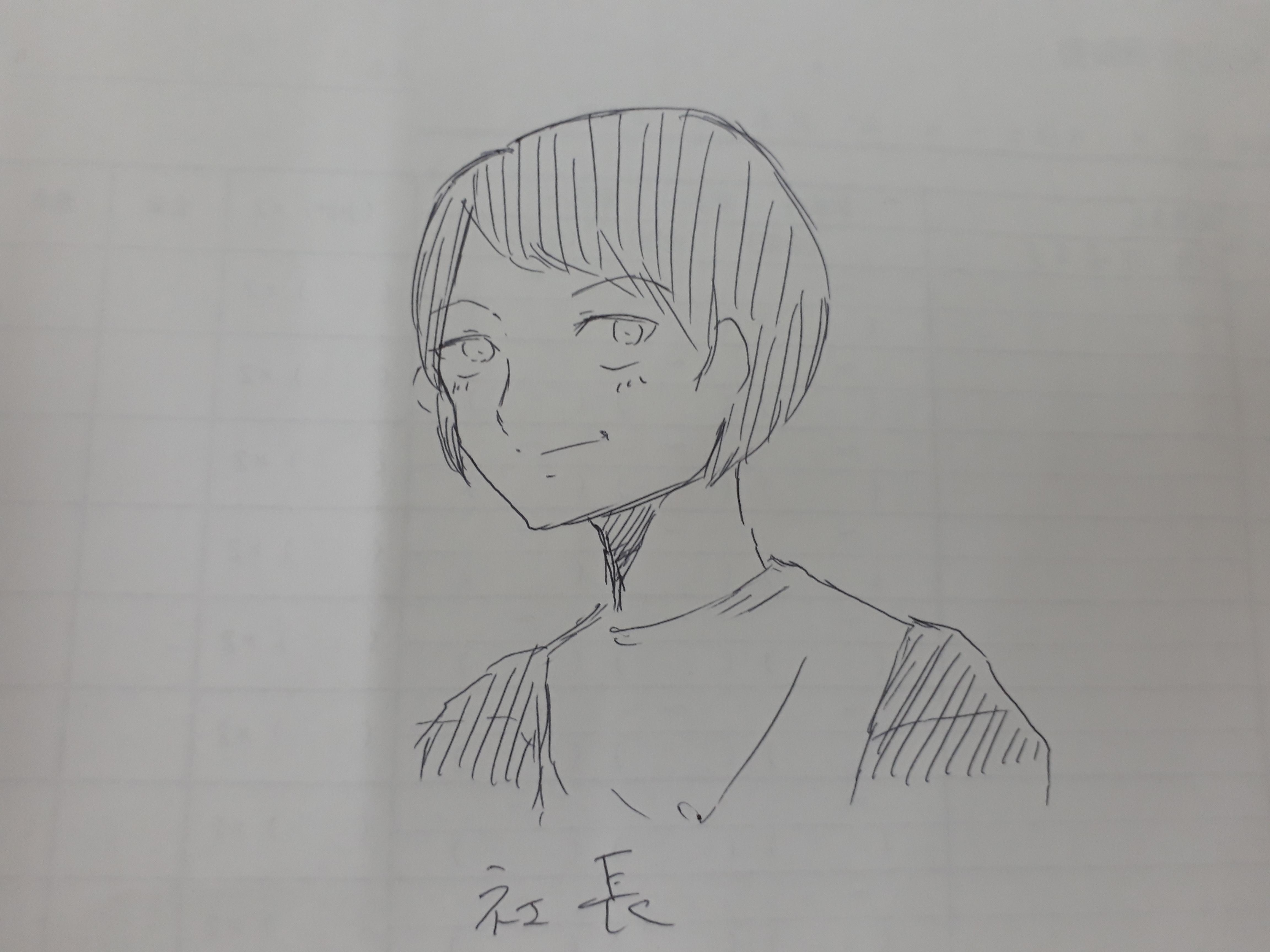 【激似!!】女子ーズYさんが似顔絵描いてくれました!!
