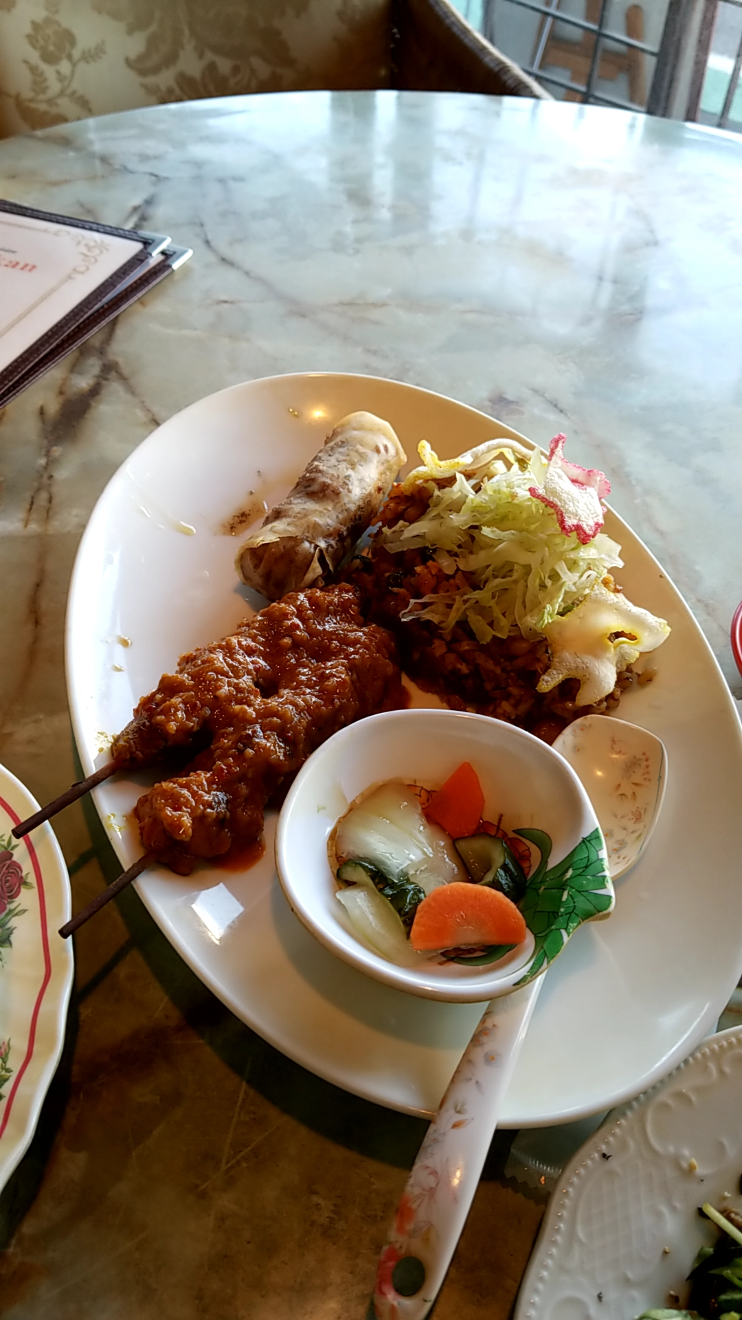 シンガポール料理食べてきました🎵