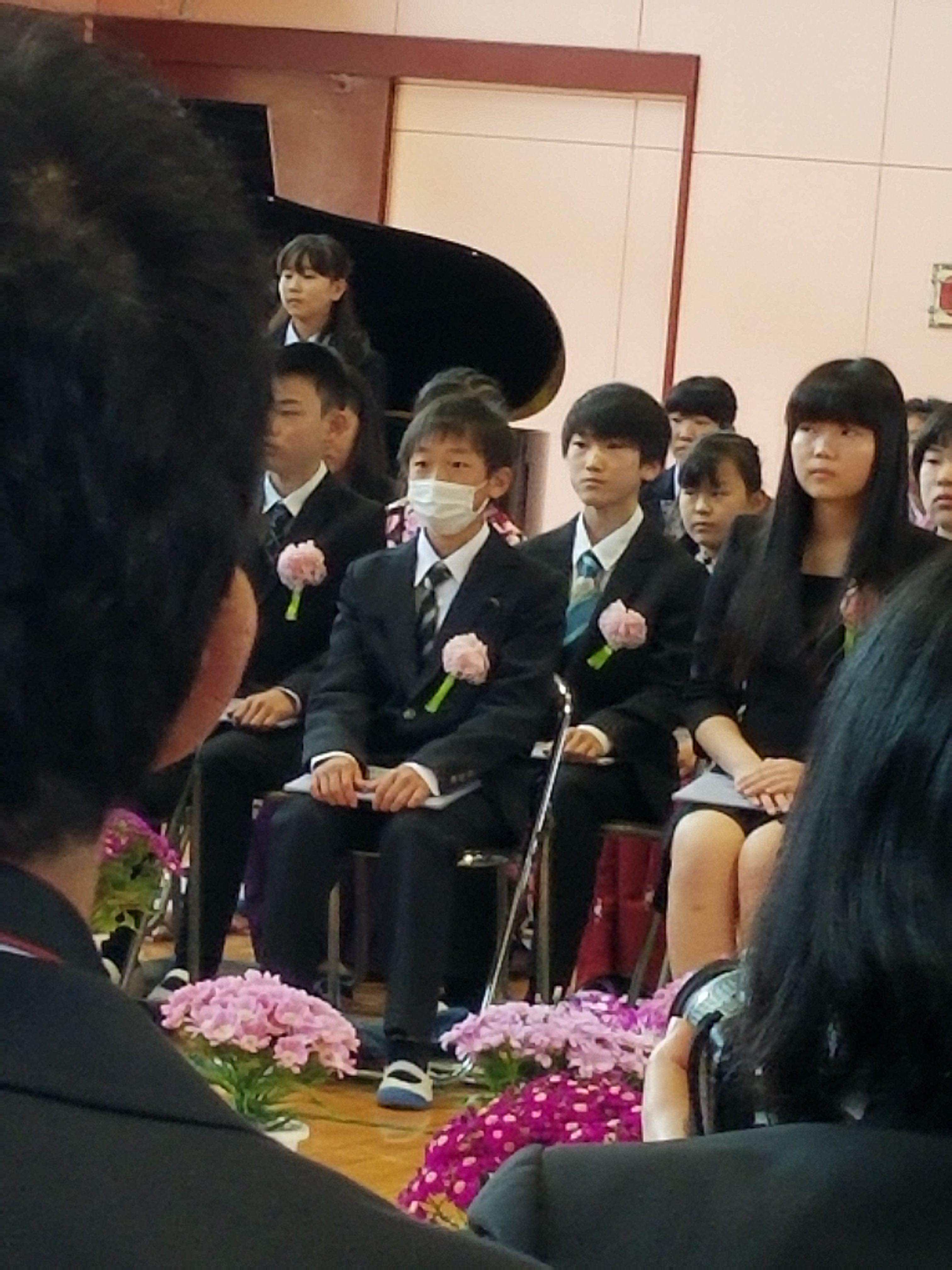 息子たちの卒業式と入学式