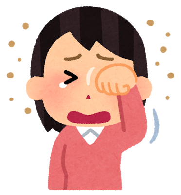 花粉症…へっくしょん!!